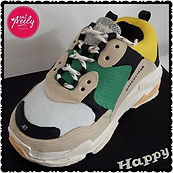 Chocolate mud Balenciaga Triple S shoe Cake