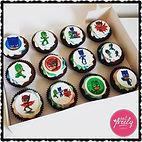 PJ Masks Gluten Free, Dairy Free, Egg Free Cupcakes