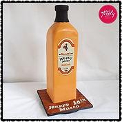 Giant Nandos Peri Peri Sauce Bottle Cake
