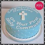 Nicholas' First Communion Cake