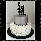 Proposal Engagement Cake