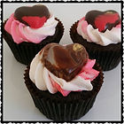 Valentines Heart Cupcakes