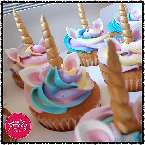 12 x Unicorn Cupcakes