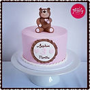 Gluten Free Chocolate Jaffa teddy bear cake