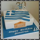 Greek Themed Cake