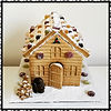 Gingerbread Houses for Christmas. Yum! T