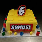 Lego Cake Gluten Free