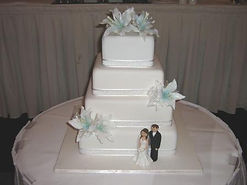 Wedding Cake Lillies