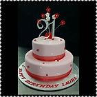 Laura's Gluten Free 21st Cake