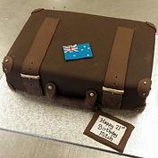 Gluten Free Suitcase Cake