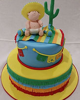 Mexican Baby Shower Cake Gluten Free