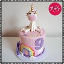 Gluten, Egg, Nut and Dairy Free Unicorn & Rainbow Cake