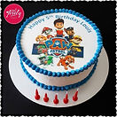 Paw Patrol Image Cake