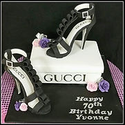 Yvonne's Gucci Stiletto Cake
