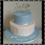 Zach's Confirmation Cake