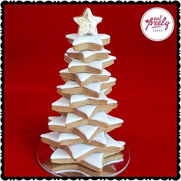 Gluten Free, Dairy Free, Vegan, Nut Free, Gingerbread Christmas Tree