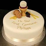 Philippa's Gluten Free Communion Cake