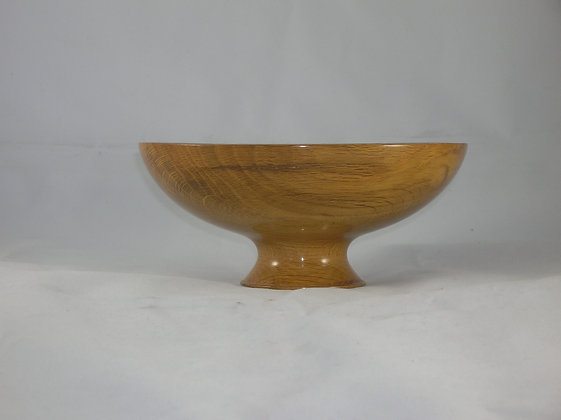 Hand Turned White Oak Bowl