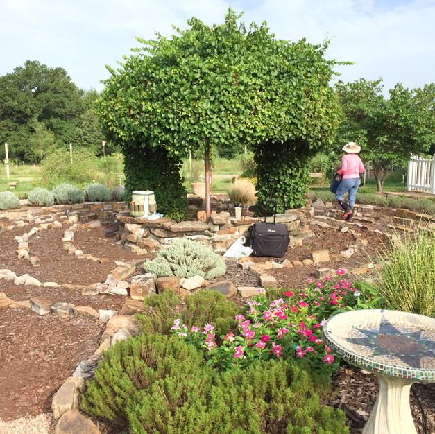 The Labyrinth Garden