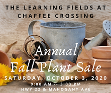 Annual Fall Plant Sale Learning Fields a
