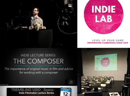 Trembling Void and Sean William present first IndieLab workshop!