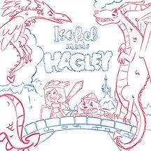 Isobel & Hagley's Dragon Adventure sketc