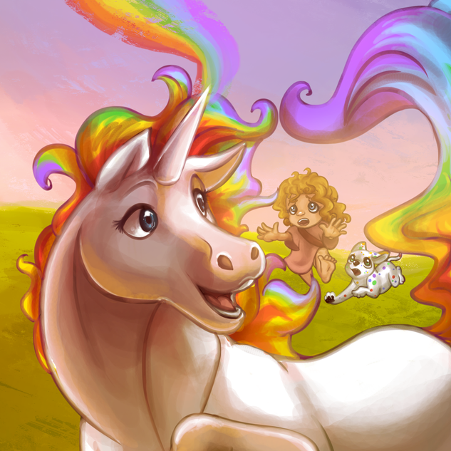 Rainbow The Unicorn
