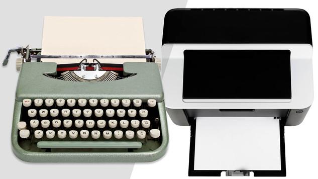 Typewriters & Printers