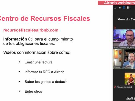 3,000 asistentes al webinar sobre dudas fiscales para anfitriones de Airbnb
