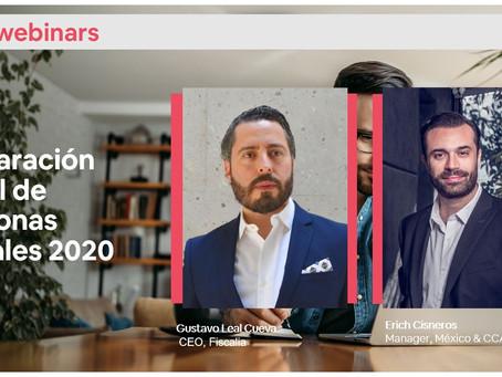 Webinar para anfitriones de Airbnb sobre declaración anual de personas morales 2020
