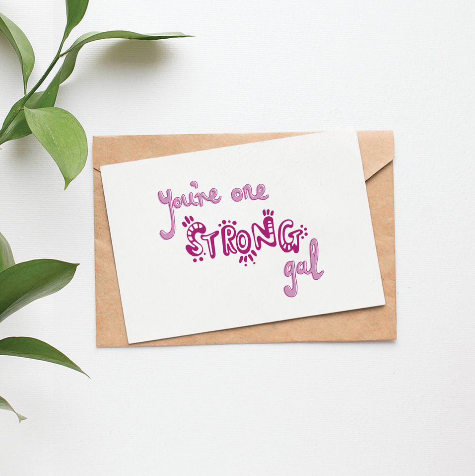 Sam K Ryan Postcard Typography