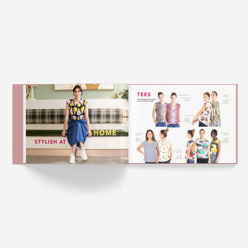 Olga de Polga Lookbook Layout, Graphic Design & Photography Editing