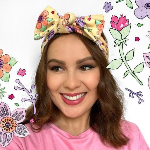 Sam K Ryan Headband Textile Design