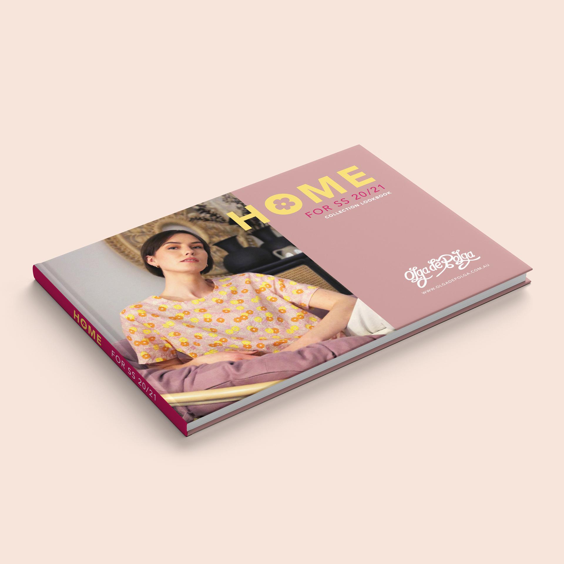 Olga de Polga Lookbook Graphic Design & Photography Editing