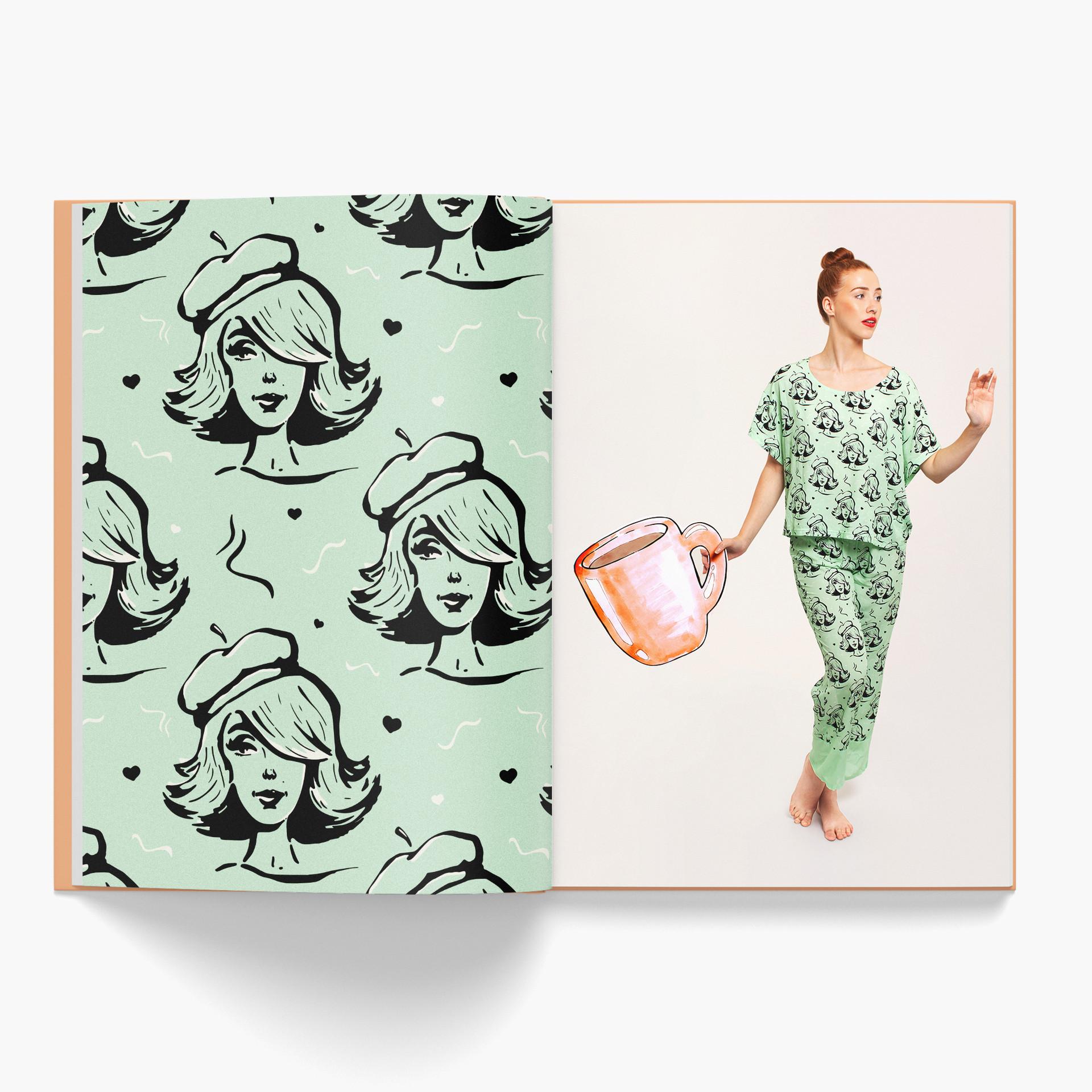 Pattern design by Sam K Ryan