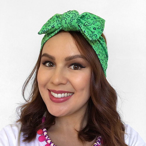 'Boogie & Wiggle' Twist Headband by Sam K Ryan