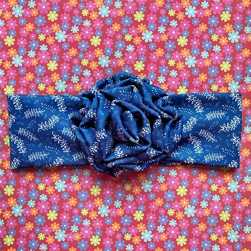 'Blue Me Away' Flower Headband by Sam K Ryan