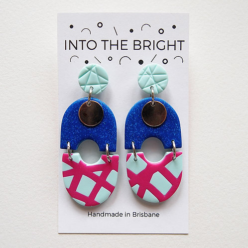 Glitter & Shine Dangles by Into the Bright