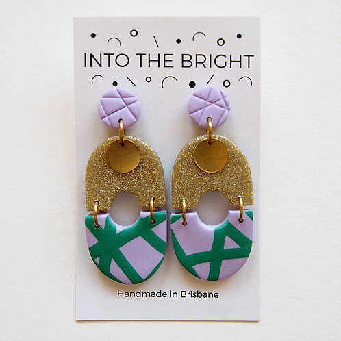 Glitter & Pop Dangles By Into the Bright