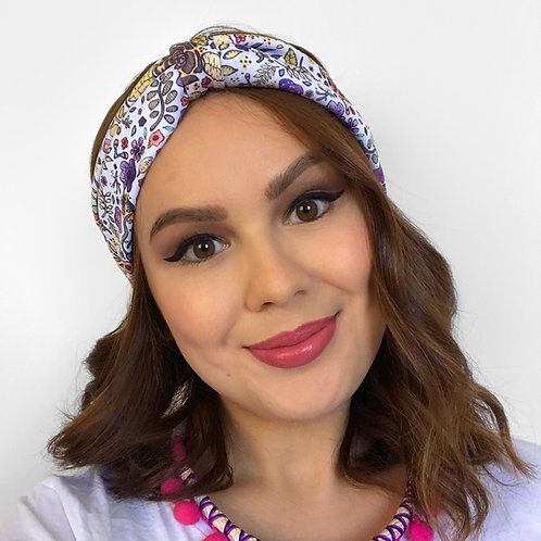 'Flower Power' Basic Headband by Sam K Ryan