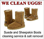 UGGS boots cleaning