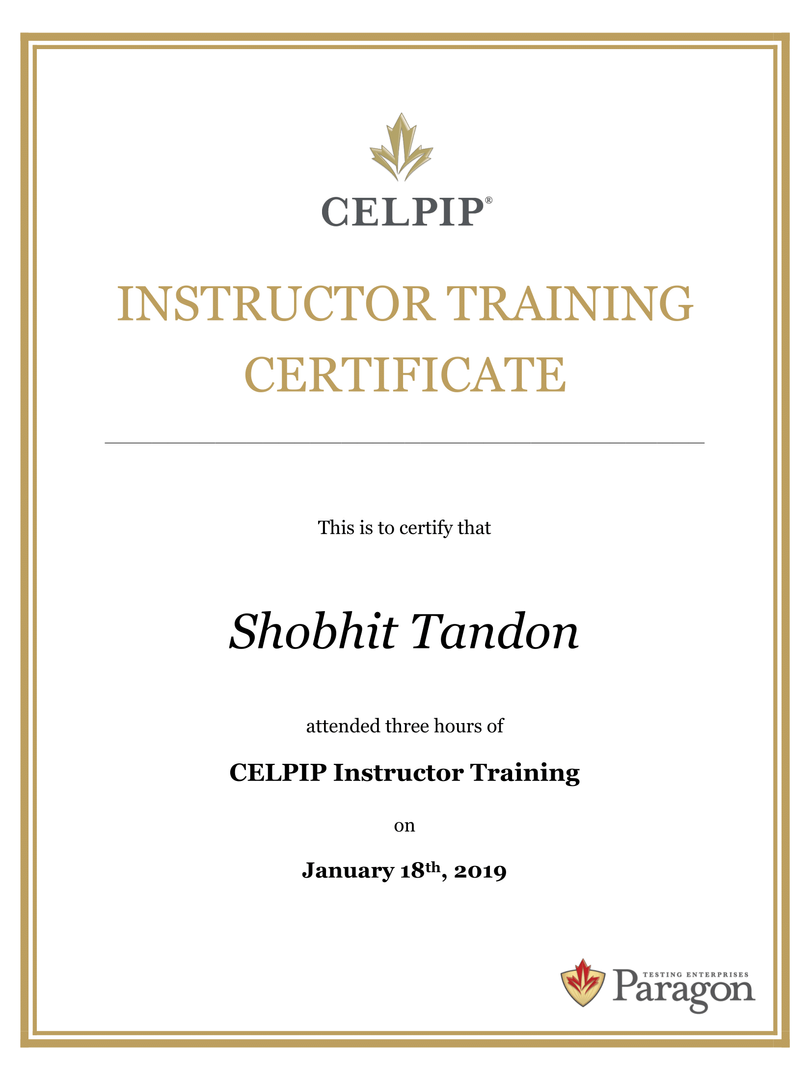 Shobhit Tandon  18-01-2019