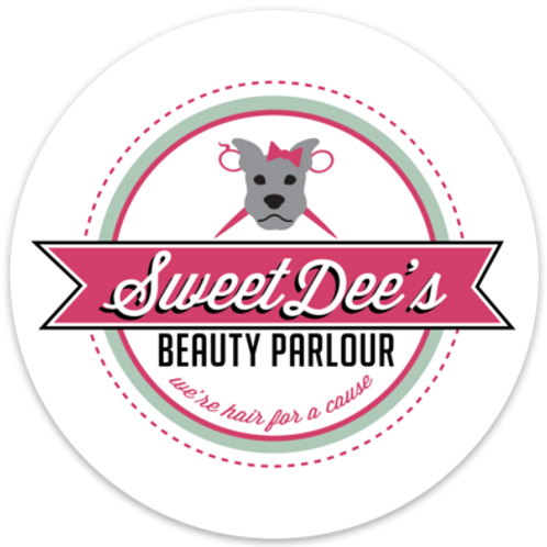 Sweet Dee's Logo Sticker: Circle