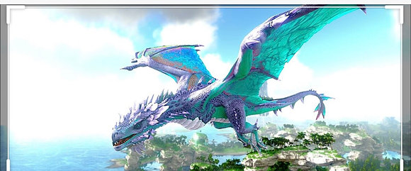 Tropical crystal wyvern with good stats ( Official xbox pvp )