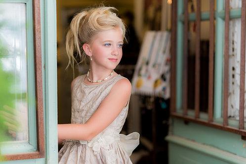 TARATATA dress beige size 10 years