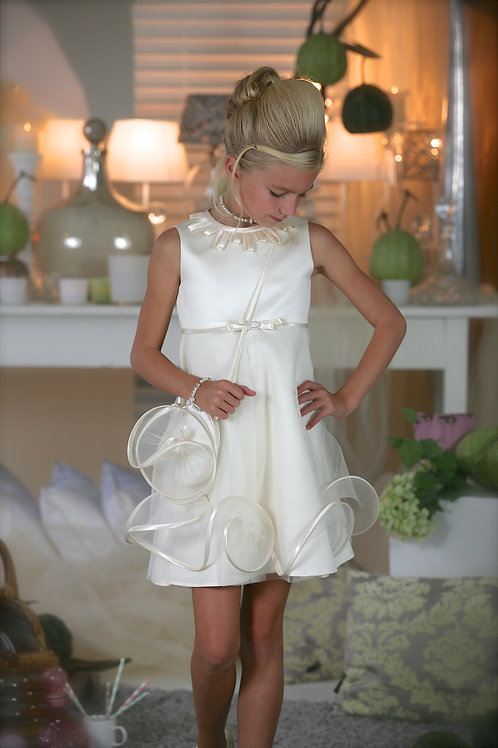 6jaar: Suzanne Ermann dress, bolero, handbag