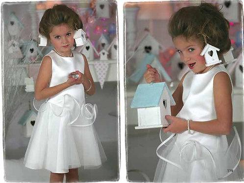 7jaar: Suzanne Ermann dress, incl bolero and handbag