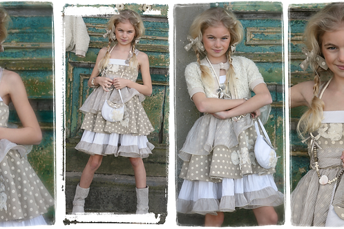 8jaar: Nicky Vankets dress Holly Hobby & bolero