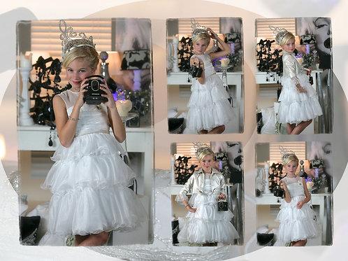 6jaar: Nicky Vankets princess dress incl bolero