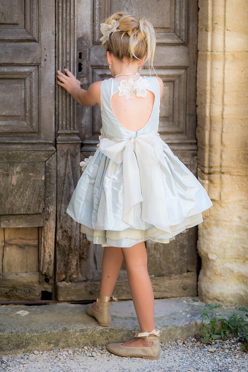 TARATATA dress ice blue size 10 years